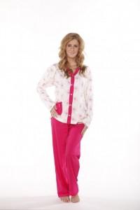 Poza 1 Pijama dama cu nasturi