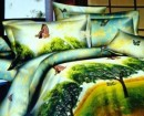 Foto Lenjerie din bumbac satinat 3D